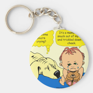 891 Memory tear cartoon Keychain