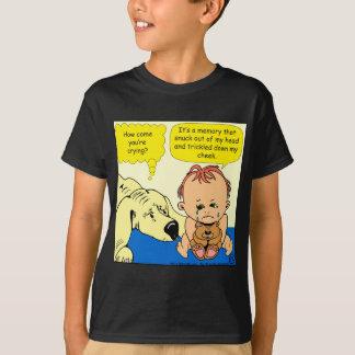 891 Memory tear cartoon T-Shirt