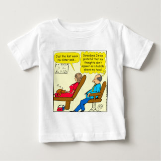 892 Private thought bubble therapist cartoon Baby T-Shirt