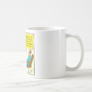 892 Private thought bubble therapist cartoon Coffee Mug