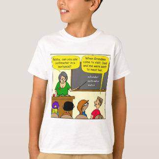 893 Centimeters play on word school cartoon T-Shirt