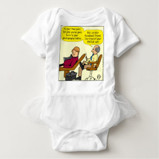 894 Tired of your cat cartoon Baby Bodysuit