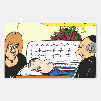 898 He looks good funeral cartoon