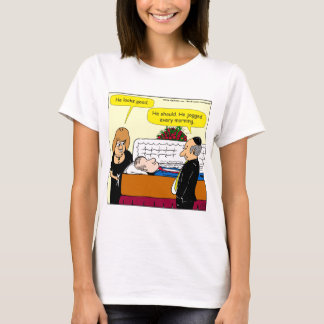 898 He looks good funeral cartoon T-Shirt