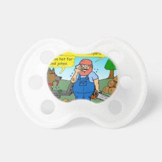 899 111 in front yard bad dad joke cartoon baby pacifier