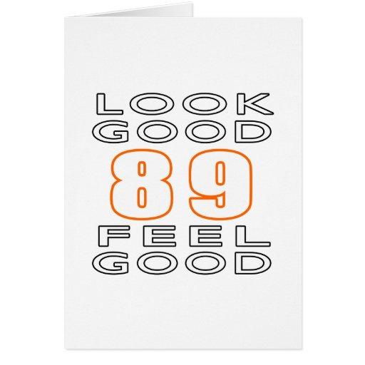 89 Look Good Feel Good Cards