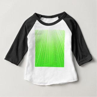 89Green Rays_rasterized Baby T-Shirt