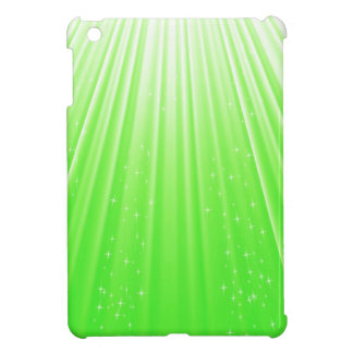 89Green Rays_rasterized iPad Mini Cover