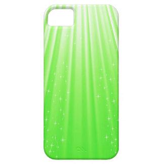89Green Rays_rasterized iPhone 5 Case