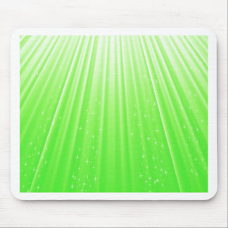 89Green Rays_rasterized Mouse Pad