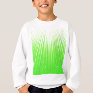 89Green Rays_rasterized Sweatshirt