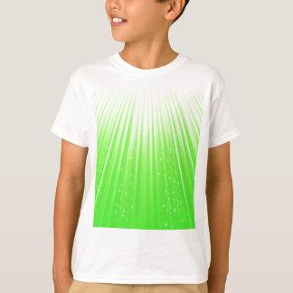 89Green Rays_rasterized T-Shirt