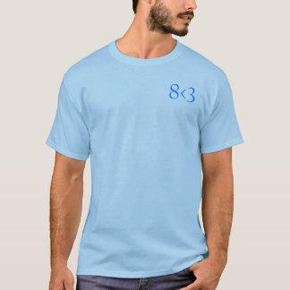 8 < 3 Subtle Shirt 1 - Blue