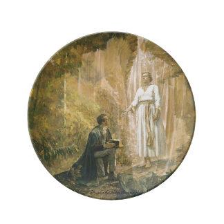"""8.5"""" Decorative Porcelain Plate"""