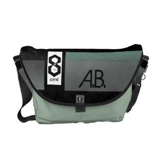 8 a-Bit Scared Geek Chic S1 Commuter Bags