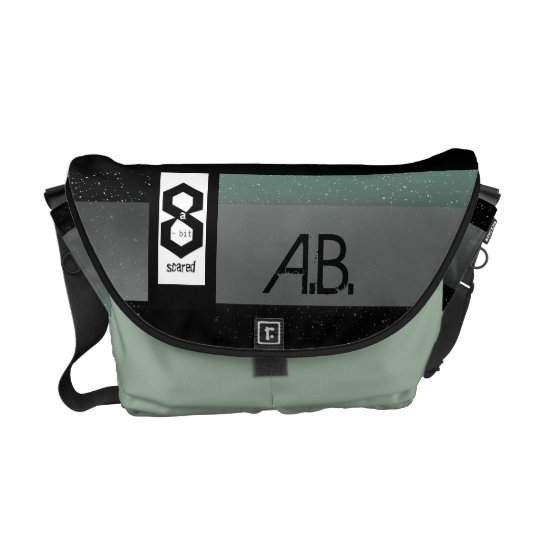 8 a-Bit Scared Geek Chic S1 Commuter Bags