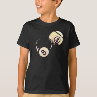 8 and 9 Billiard Balls T-Shirt