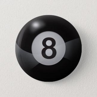 8 Ball 2 Inch Round Button