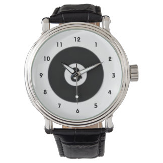 8-Ball Billiards Design Watch