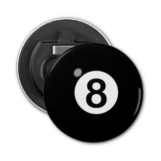 8 Ball Bottle Opener Button Bottle Opener