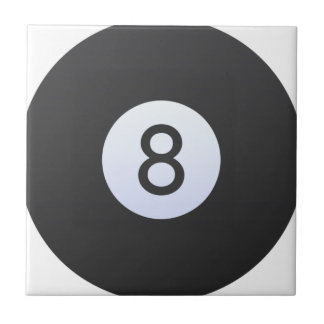 8 Ball Ceramic Tile