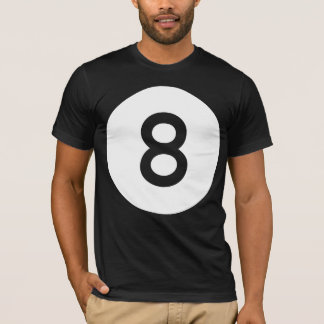 8 Ball / Eight Ball - Clean T-Shirt