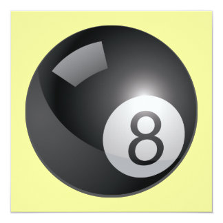 8 Ball Invitation