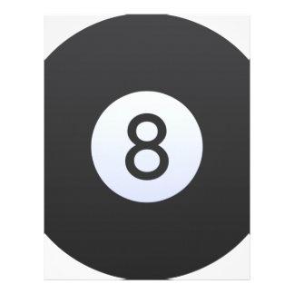 8 Ball Letterhead