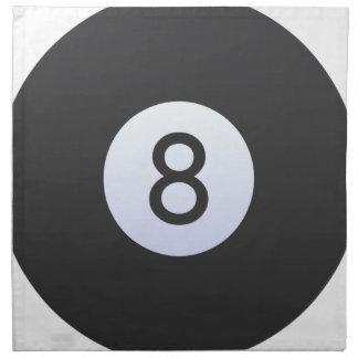 8 Ball Napkin