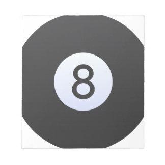 8 Ball Notepad