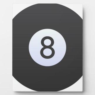 8 Ball Plaque
