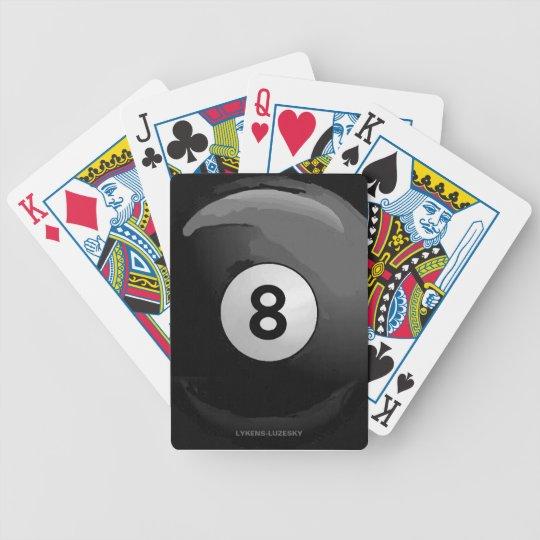 8 ball poker deck