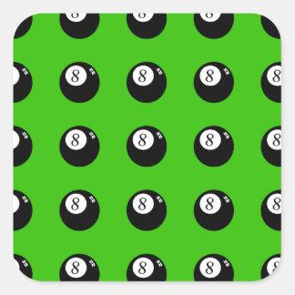 8-Ball Pool Square Sticker