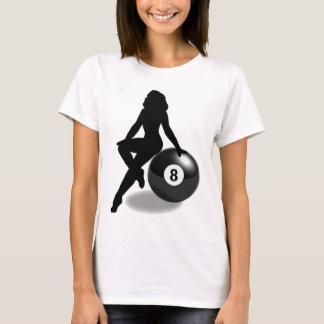 8 Ball Silhouette T-Shirt