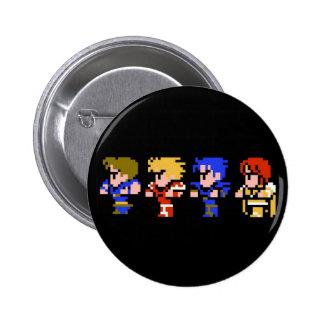 8-bit 2 inch round button