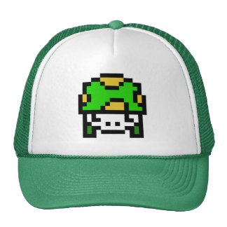 8 Bit Army Trucker Hat