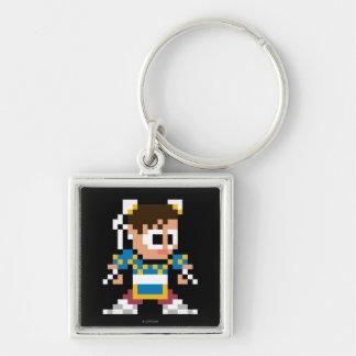 8-Bit Chun-Li Keychain