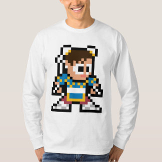 8-Bit Chun-Li T-shirts