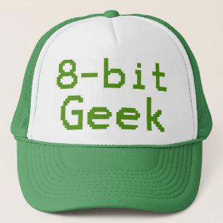 8-bit Geek Humorous Nerd Trucker Hat