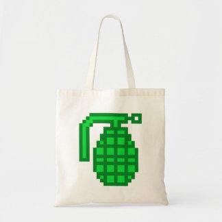 8 Bit Grenade Tote Bag