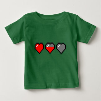 8 BIT HEART Meter Baby T-Shirt