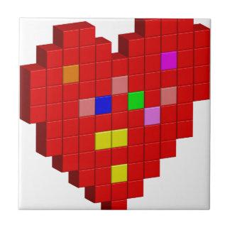 8-Bit Heart Tile