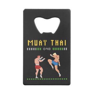 8-Bit Muay Thai Credit Card Bottle Opener