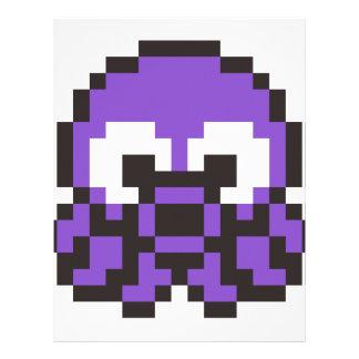 8 Bit Octopus Letterhead