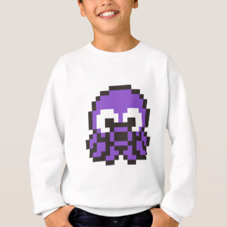 8 Bit Octopus Sweatshirt