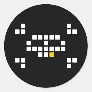 8-Bit Pirate Stickers