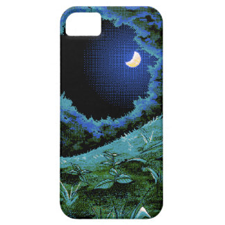 8 Bit Pixel Moonlight iPhone 5 Cases