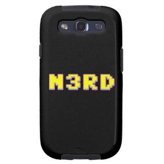 8 Bit Pixelated Nerd Galaxy SIII Covers