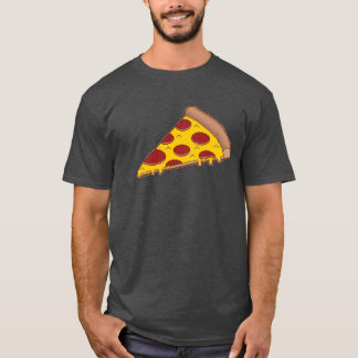 8-Bit Pizza Dark T-Shirt
