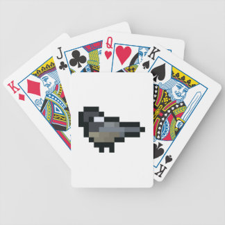 8-Bit Retro Chickadee Poker Deck